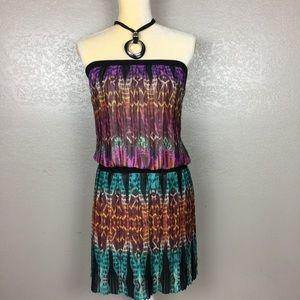 BCBG MaxAxria Sleeveless Bohemian Dress Size S